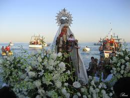 Festividades en honor a la Virgen del Carmen Festivities in honor of the Virgen del Carmen