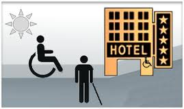 Hotel accesible y amigable Approachable and friendly Hotel