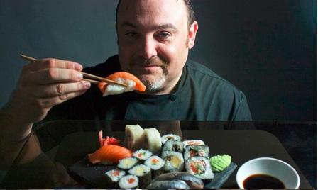 Sushi by Benjamín de la Mata