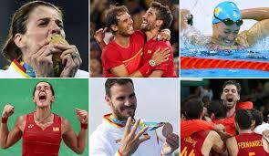 17 medallas consigue España en las Olimpiadas de Rio Spain won 17 medals at the Olympics Games in Rio 2016