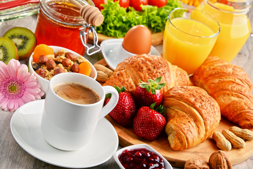 Breakfast buffet & a la carte