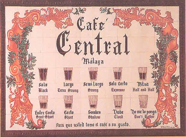 Los malagueños y su café