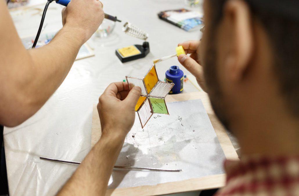 Taller de Nazareno de Vidrio March 3rd: Glass Nazarene Workshop