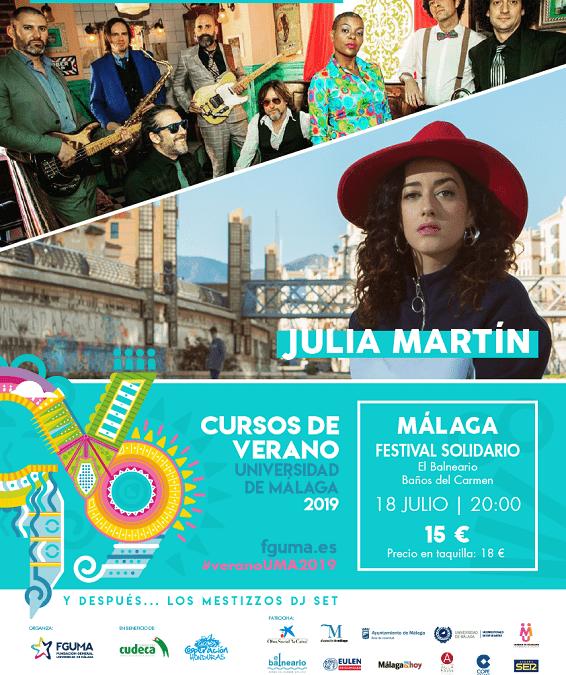 Festival Solidario Málaga Verano 2019