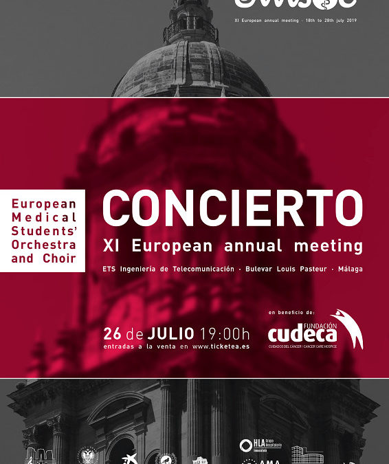Gala Solidaria. Concierto XI European annual meeting.