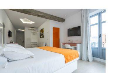 Habitación cuádruple en Málaga para familias con niños