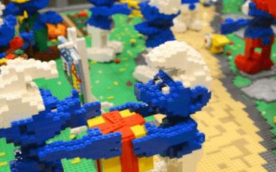 Lego Exhibition in 'Muelle Uno', Port of Malaga