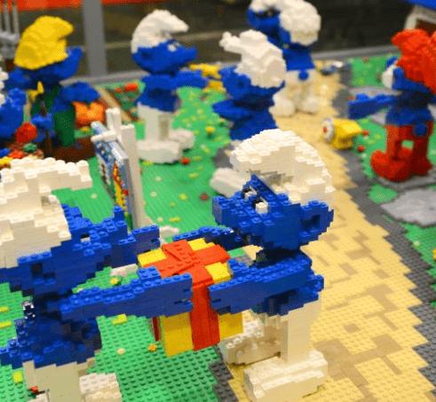 Exposición de Lego en Muelle Uno, Puerto de Málaga
