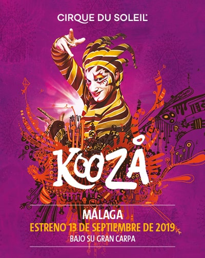 New show of the 'Cirque Du Soleil', in Malaga