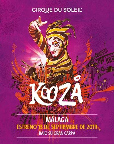 Nuevo espectáculo del Circo del Sol, en Málaga