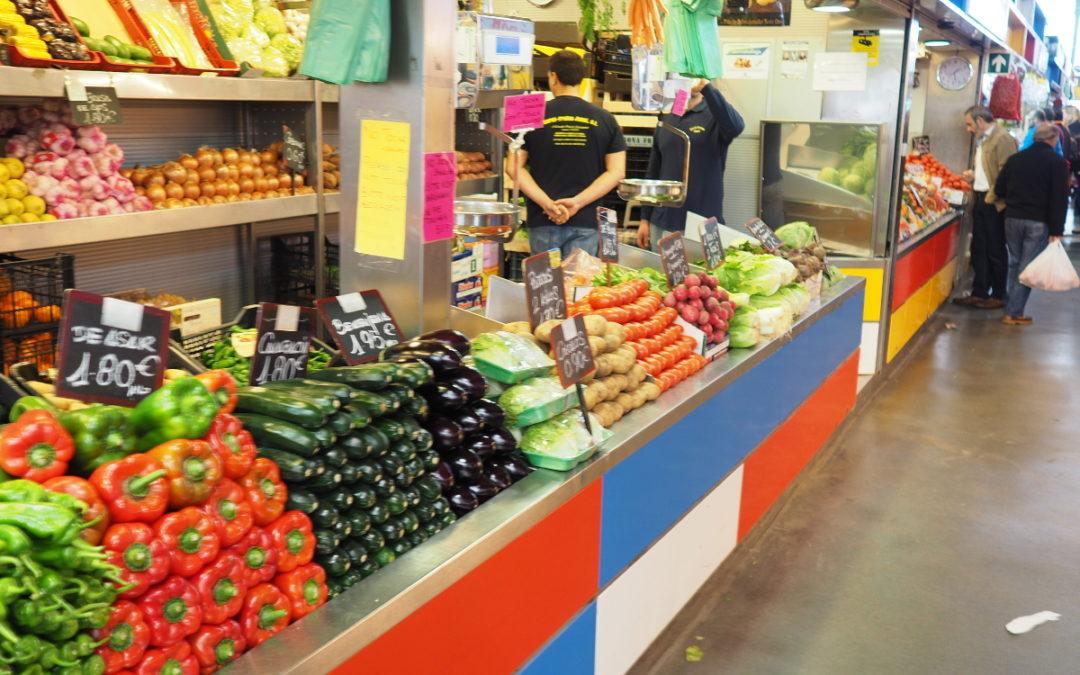 The Atarazanas Market, among the best in the world