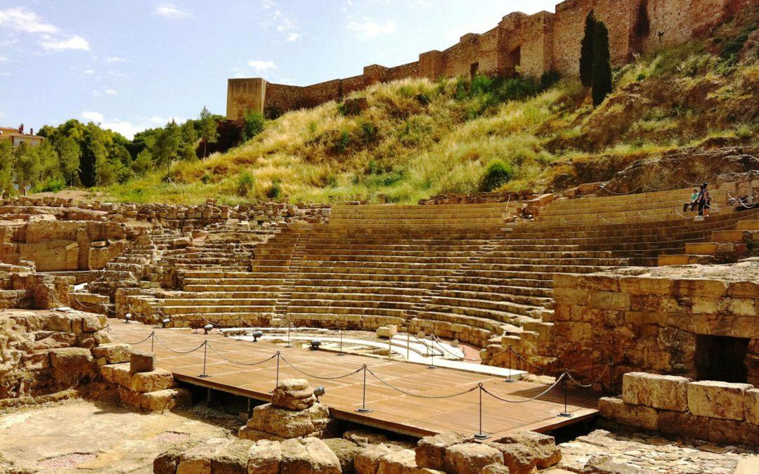 Visitas al Teatro Romano de Málaga en el Día Mundial del Turismo