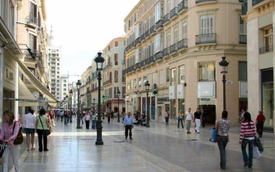 Larios Street. How I want to see you again in all your splendor!
