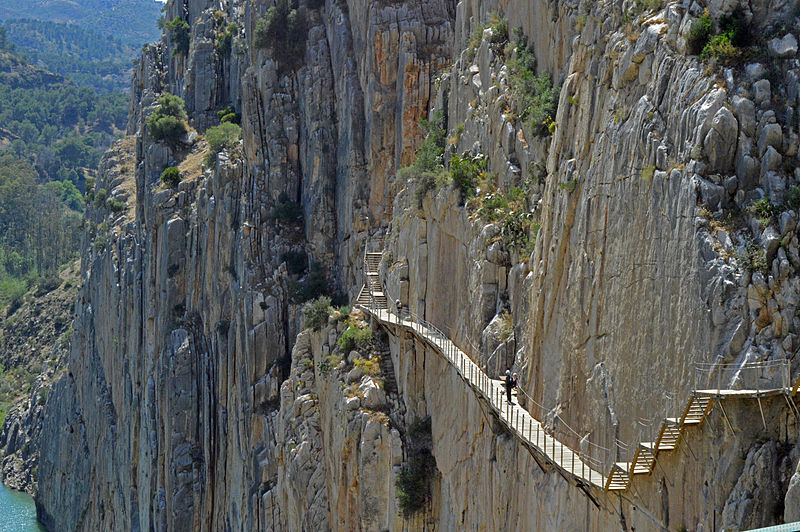 El Caminito del Rey from your home, with the 360º virtual tour